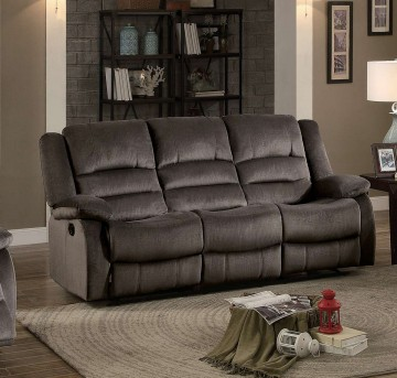 Homelegance Jarita Chocolate Double Reclining Sofa Available Online in Dallas Fort Worth Texas