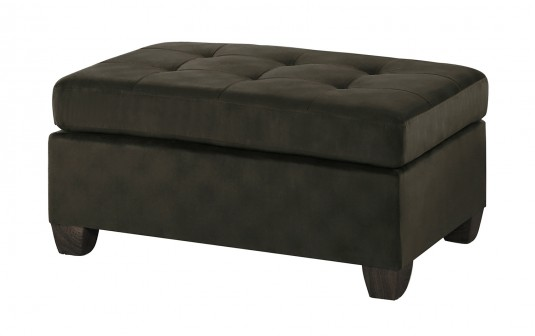 Homelegance Emilio Chocolate Ottoman Available Online in Dallas Fort Worth Texas