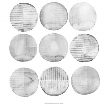 Coaster Newburgh Grey And White Print Wall Art Available Online in Dallas Fort Worth Texas