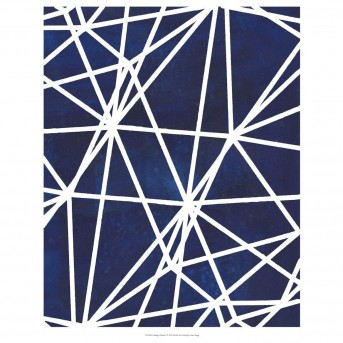 Coaster Newburgh Blue And White Print Wall Art Available Online in Dallas Fort Worth Texas