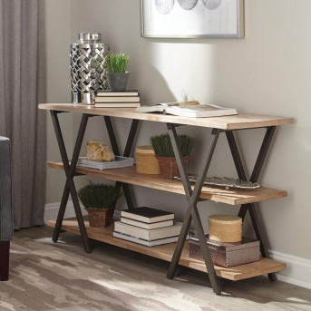 Coaster Zinnia Two-Tone Console Table Available Online in Dallas Fort Worth Texas