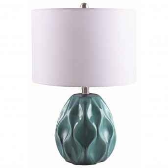 Coaster Scott Turquoise Table Lamp Available Online in Dallas Fort Worth Texas