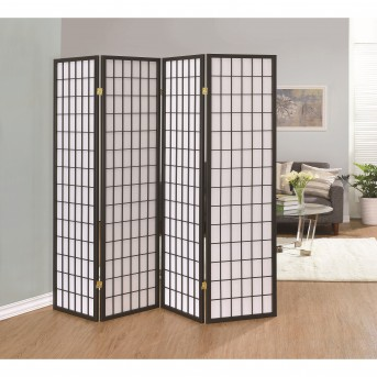 Coaster Florance Grey Folding Screen Available Online in Dallas Fort Worth Texas