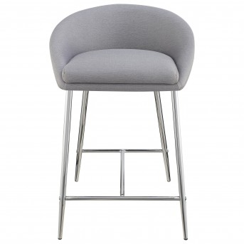 Coaster Rec Room Grey Upholstered Counter Height Stool Available Online in Dallas Fort Worth Texas
