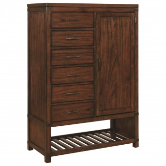 Coaster Artesia Dark Cocoa Door Chest Available Online in Dallas Fort Worth Texas