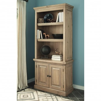 Coaster Florence Modern Vintage Rustic Smoke Bookcase Available Online in Dallas Fort Worth Texas