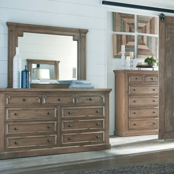 Coaster Florence Solid Pine Dresser Available Online in Dallas Fort Worth Texas