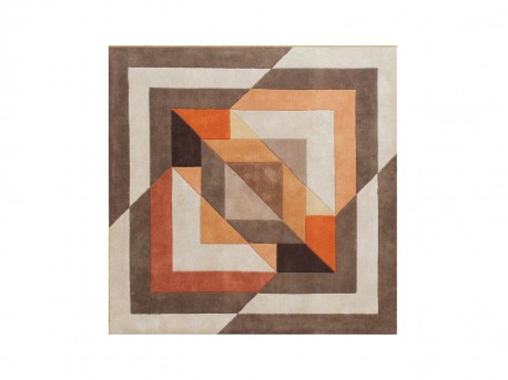 Alliyah Znz Tobacco Brown 6 Ft Sq Rug Hr-rec-5-8_co632 Sq Available Online in Dallas Fort Worth Texas