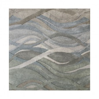 Alliyah Znz Silver Grey 6 Ft Sq Rug Hr-rec-5-8_ac20049 Sq-ar Available Online in Dallas Fort Worth Texas