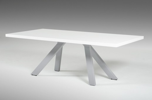 VIG Vanguard White And Grey Dining Table Available Online in Dallas Fort Worth Texas