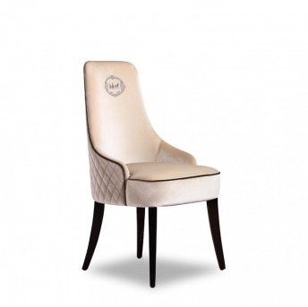 VIG A&X Talin Off-White Velour Dining Chair Available Online in Dallas Fort Worth Texas
