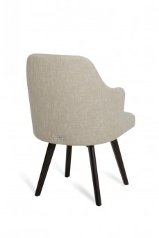 VIG Caligari Oak Off-White Fabric Dining Chair Available Online in Dallas Fort Worth Texas
