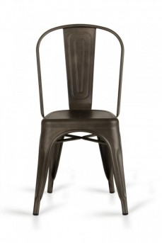 VIG Elan Rust Metal Dining Chair Available Online in Dallas Fort Worth Texas