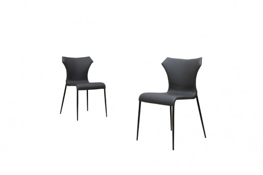 VIG Marsha Grey & Black Dining Chair Available Online in Dallas Fort Worth Texas