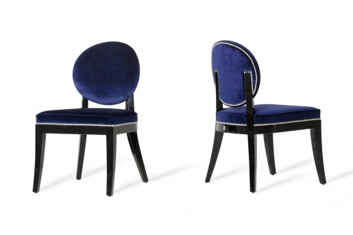 VIG Isabella Blue Dining Chair Available Online in Dallas Fort Worth Texas