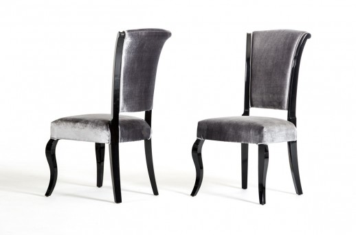 VIG Seema Grey & Black Dining Chair Available Online in Dallas Fort Worth Texas