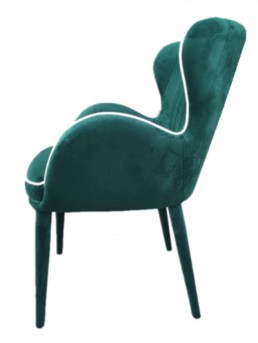 VIG Tigard Green Fabric Dining Chair Available Online in Dallas Fort Worth Texas