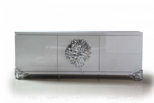 VIG Versus Emma White Lacquer Buffet Available Online in Dallas Fort Worth Texas
