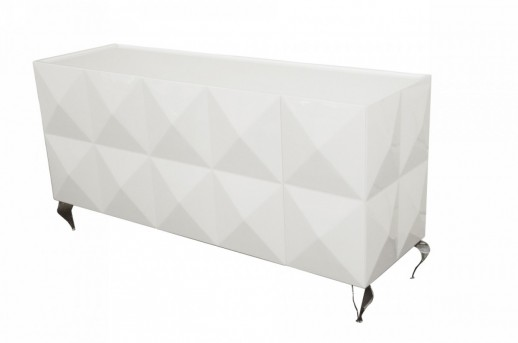 VIG Versus Eva White Lacquer Buffet Available Online in Dallas Fort Worth Texas