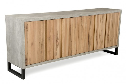 VIG Reese Aged Oak Buffet Available Online in Dallas Fort Worth Texas