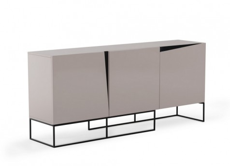 VIG Hope Grey Gloss Buffet Available Online in Dallas Fort Worth Texas