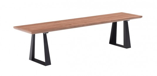VIG Corey Walnut Bench Available Online in Dallas Fort Worth Texas
