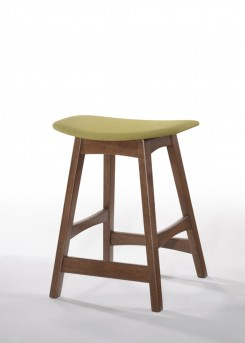 VIG Steed Yellow & Walnut Bar Stool Available Online in Dallas Fort Worth Texas