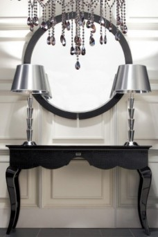 VIG A&X Baron Round Mirror Available Online in Dallas Fort Worth Texas