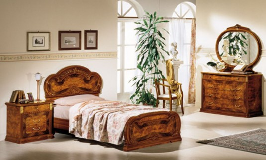 VIG Milady Twin Bed Available Online in Dallas Fort Worth Texas