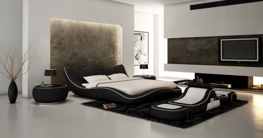 VIG Modrest J215B Eco-leather Bed Available Online in Dallas Fort Worth Texas