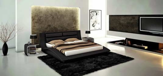VIG Modrest J212 Eco-leather Bed Available Online in Dallas Fort Worth Texas