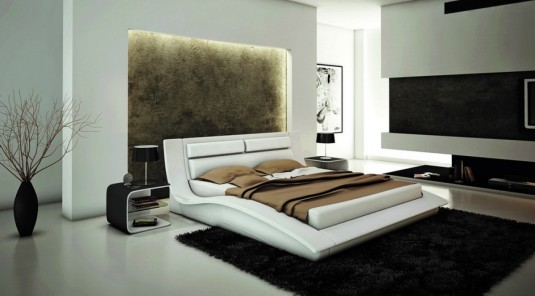 VIG Samaba Eco-leather Bed Available Online in Dallas Fort Worth Texas