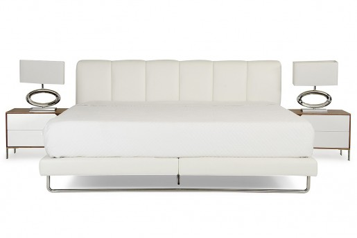 VIG Heather White Bed Available Online in Dallas Fort Worth Texas