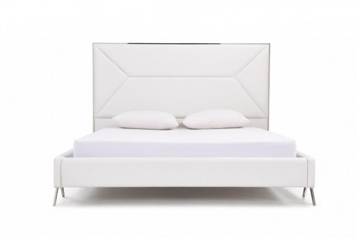 VIG Candid White Bed Available Online in Dallas Fort Worth Texas