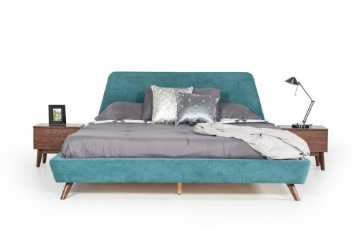VIG Lewis Teal Bed Available Online in Dallas Fort Worth Texas
