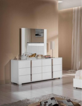 VIG San Marino White Dresser Available Online in Dallas Fort Worth Texas