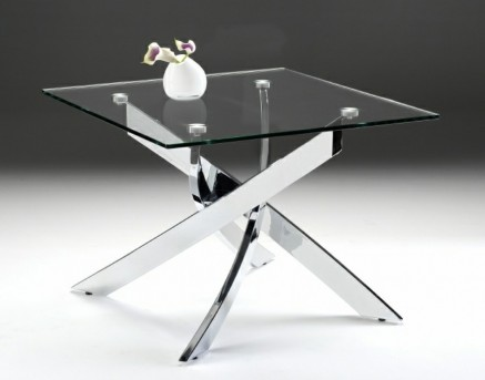 VIG Pyrite Glass End Table Available Online in Dallas Fort Worth Texas