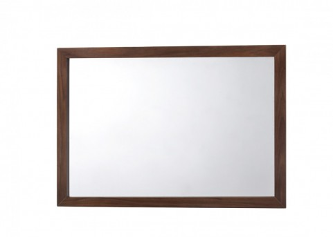 VIG Lewis Walnut Mirror Available Online in Dallas Fort Worth Texas