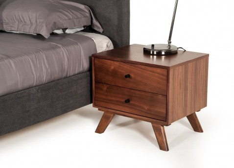 VIG Addison Walnut Nightstand Available Online in Dallas Fort Worth Texas