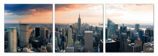 VIG Nyc 3-Panel Photo Available Online in Dallas Fort Worth Texas