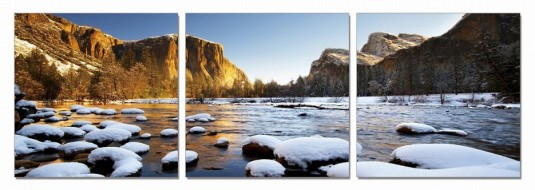 VIG Yosemite 3-Panel Photo On Canvas Available Online in Dallas Fort Worth Texas