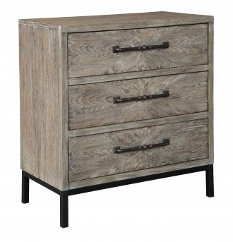 Ashley Cartersboro Brown/Black Accent Chest Available Online in Dallas Fort Worth Texas