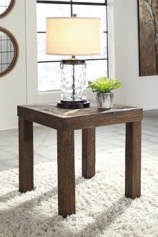 Ashley Ossereene Square End Table Available Online in Dallas Fort Worth Texas