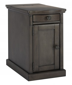 Ashley Laflorn Grey Chair Side End Table Available Online in Dallas Fort Worth Texas