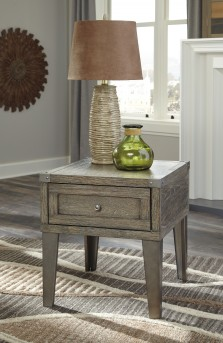 Ashley Chazney Rectangular End Table Available Online in Dallas Fort Worth Texas