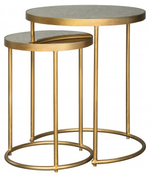 Ashley Majaci Gold /White Accent Table Available Online in Dallas Fort Worth Texas
