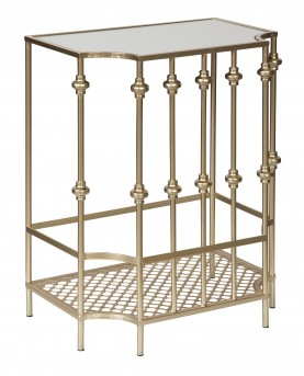 Ashley Jorenton Champagne Accent Table Available Online in Dallas Fort Worth Texas