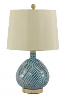 Ashley Jenaro Glass Table Lamp Available Online in Dallas Fort Worth Texas
