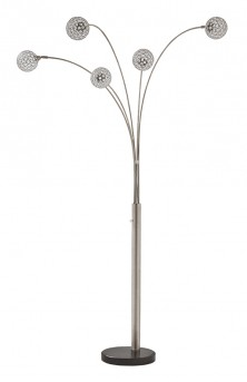 Ashley Winter Metal Arc Lamp Available Online in Dallas Fort Worth Texas