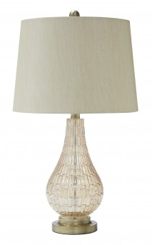 Ashley Latoya Glass Table Lamp Available Online in Dallas Fort Worth Texas